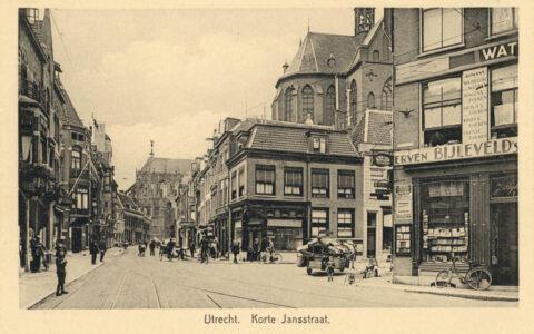 Utrecht, Korte Jansstraat jaren 20